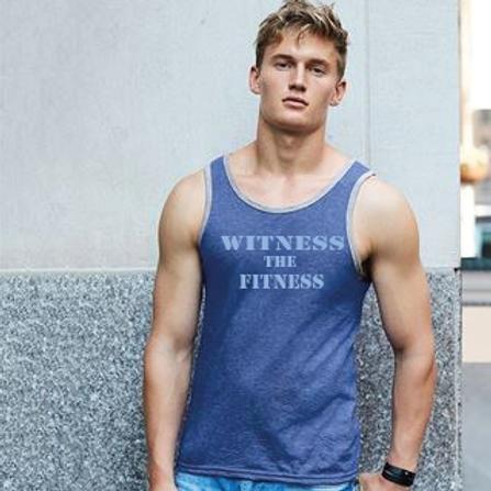 Witness the Fitness Slogan vest