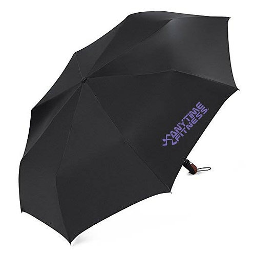 Black telescopic umbrella