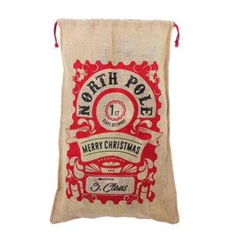 Large personalised Jute bag