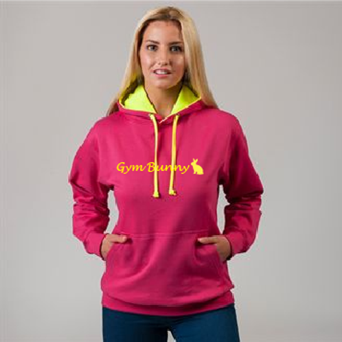 Gym Bunny Superbright Hoodie