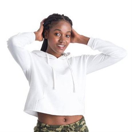 Girlie cropped hoodie