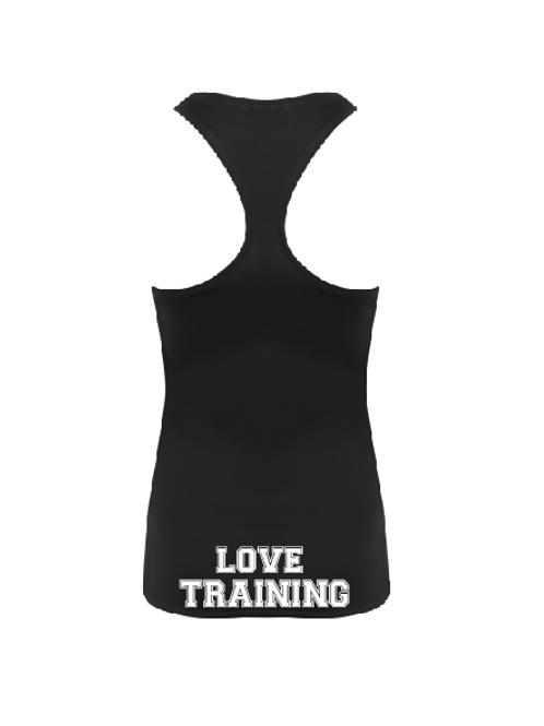 Love training racerback performance vest