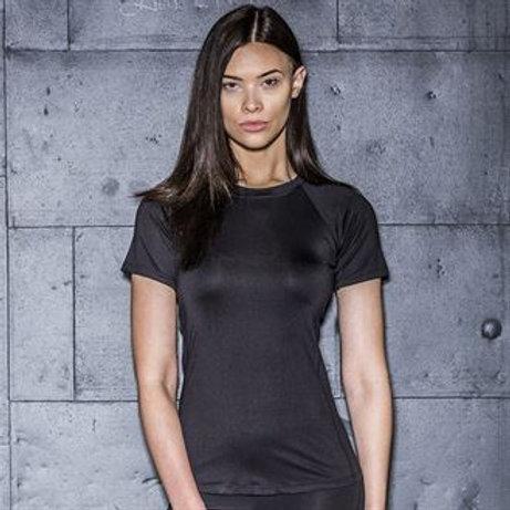 Ladies slim fit workout t-shirt