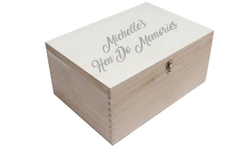 Hen Party Memories box