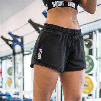 Girlie jog shorts