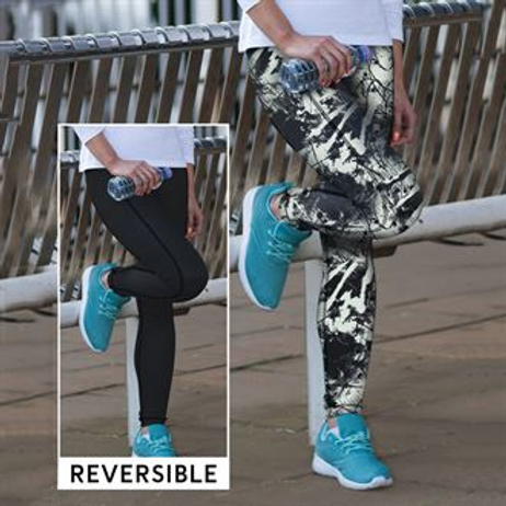 Anytime Fitness reversible leggings