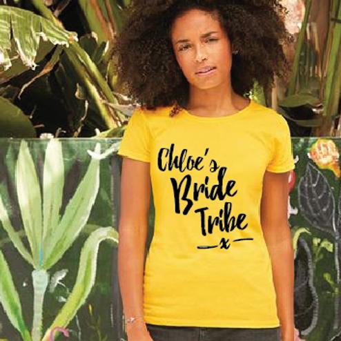 Bride Tribe t shirts
