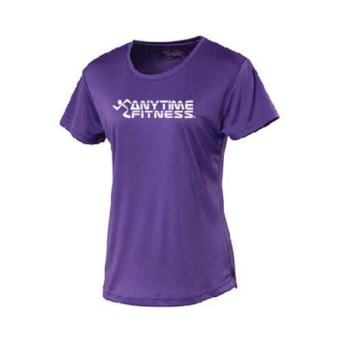 Ladies sports fabric T shirt
