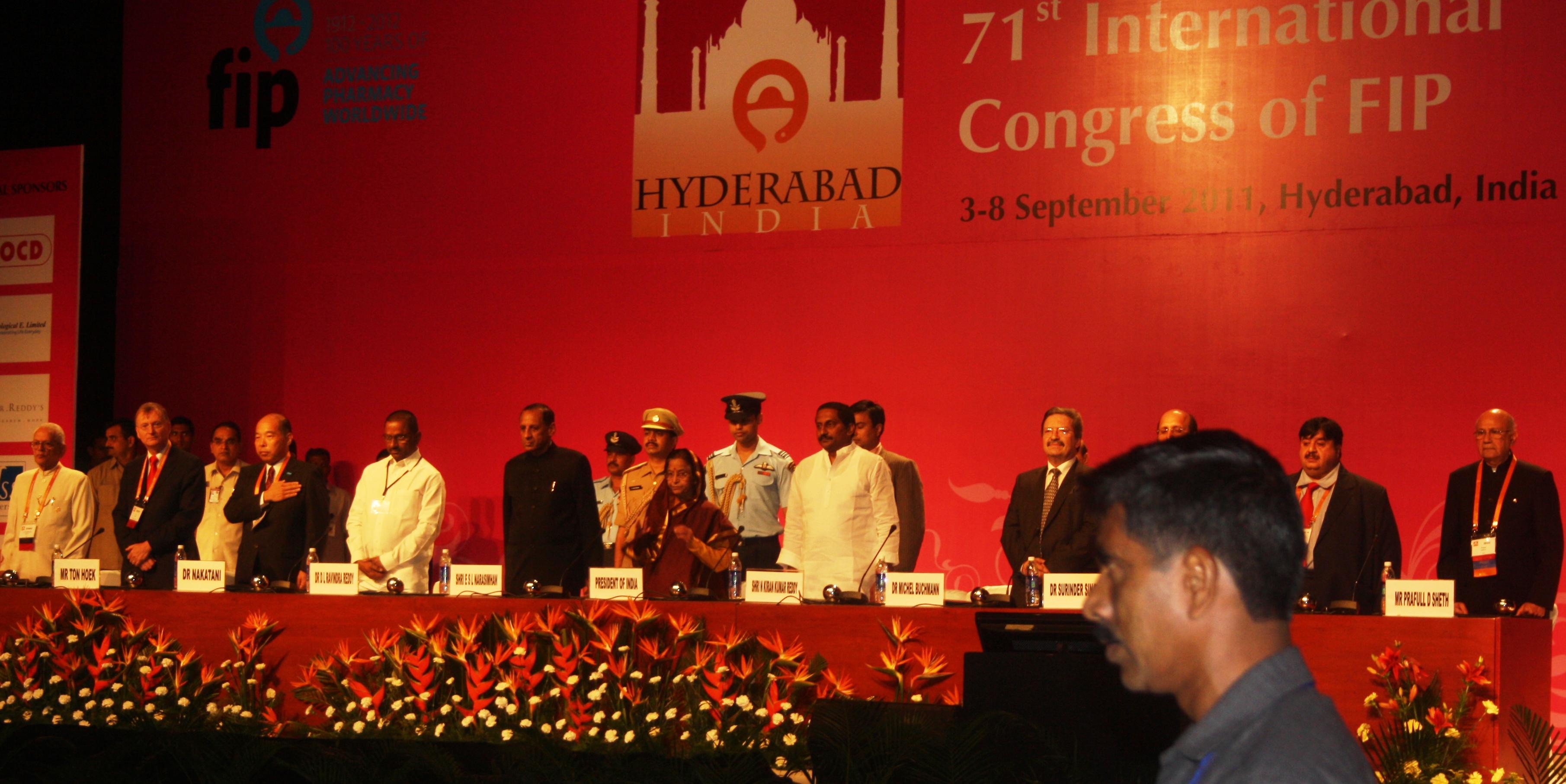 Inaugural Ceremony, FIP-2012