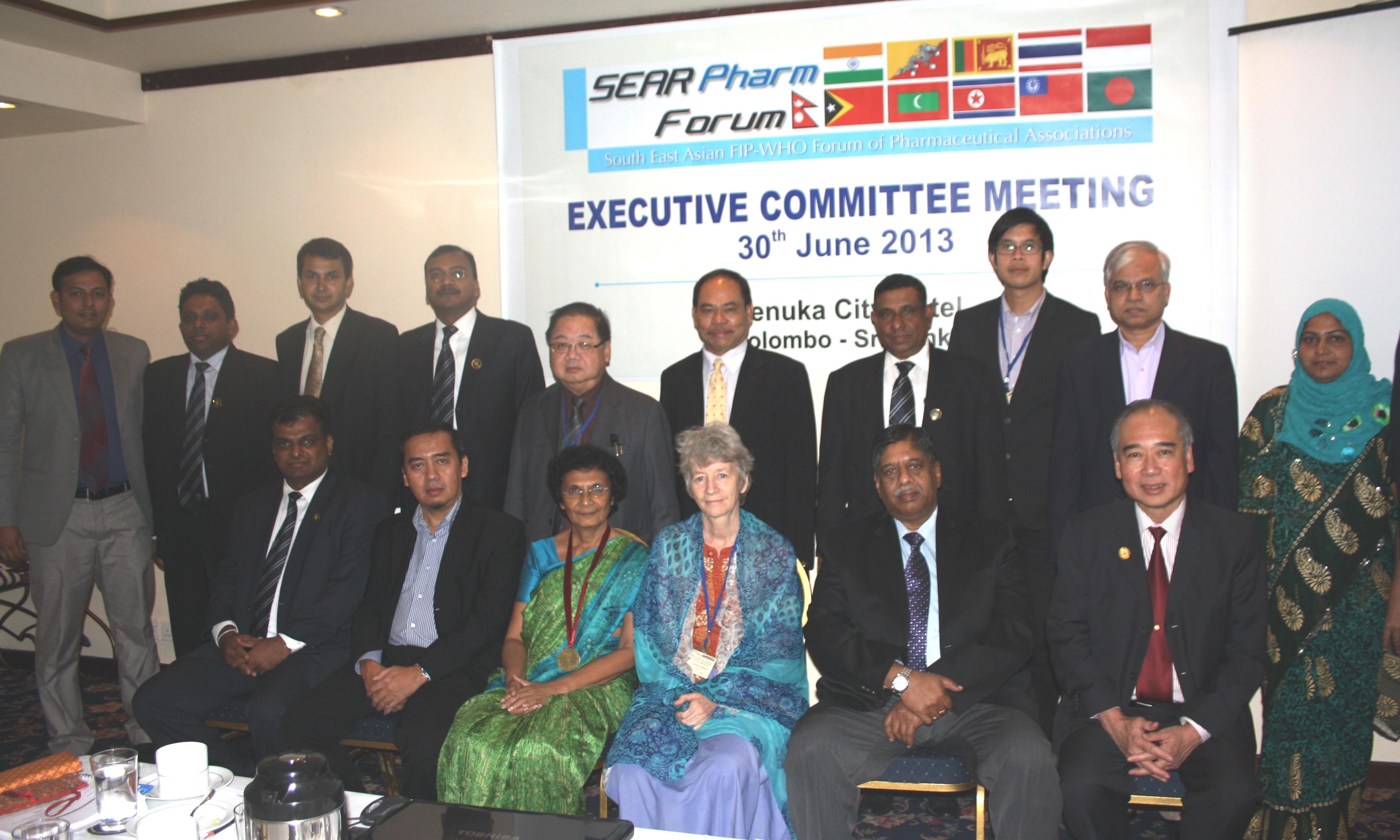 SEARPharm Forum EC Meeting 2013