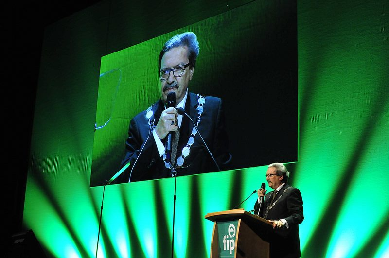 FIP President Michel Buchmann