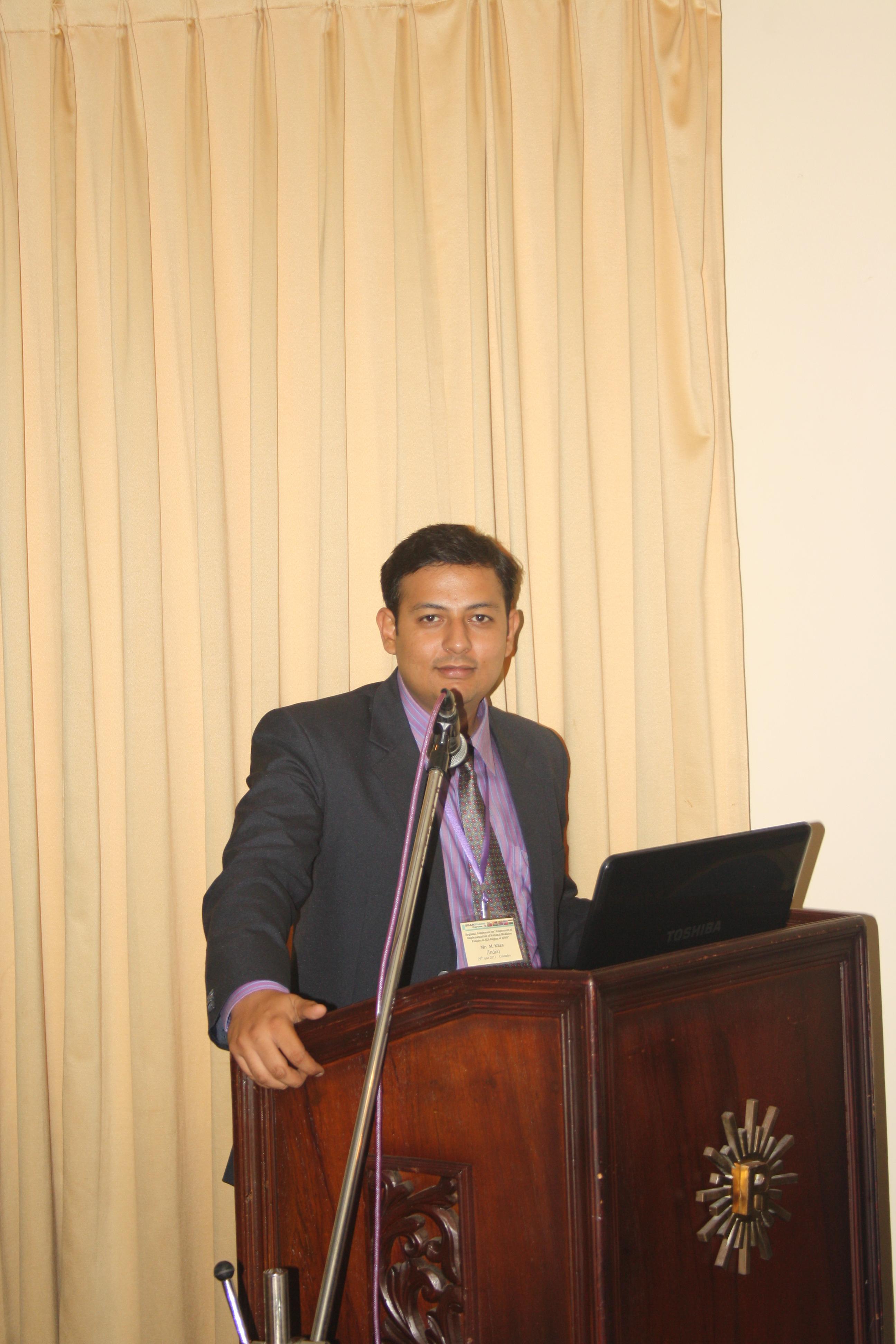 Exec. Secretary, SPF Dr. Ahmad