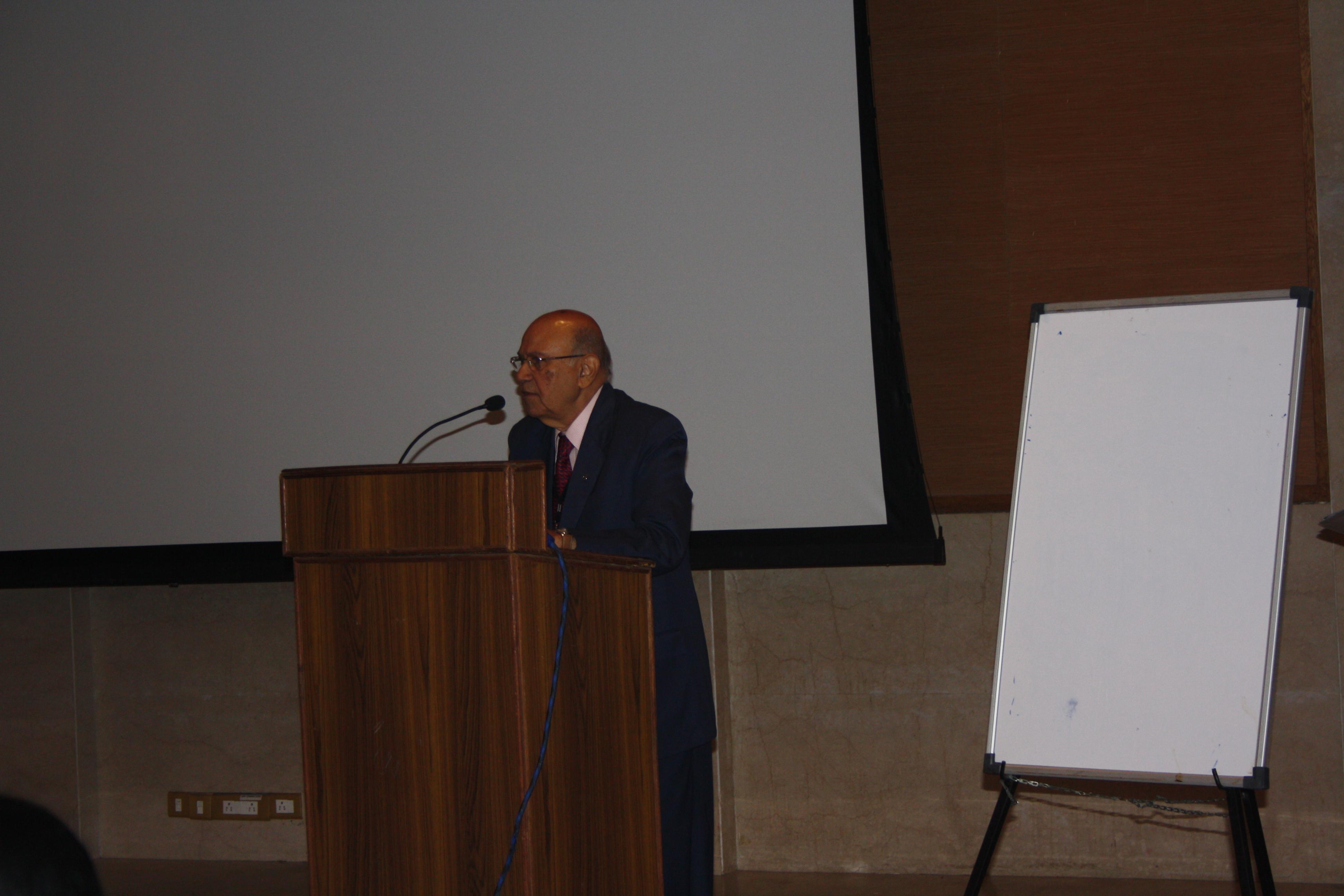 VP, FIP Mr. Prafull D. Sheth
