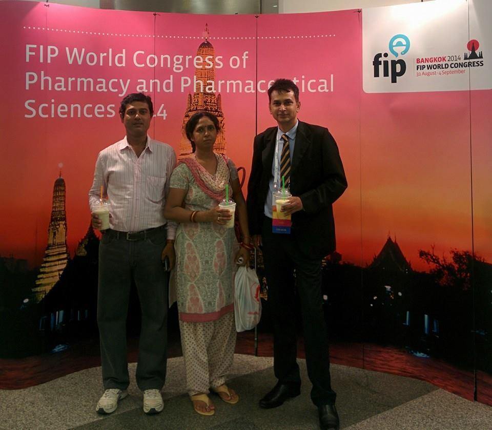 Mr. Pradeep Mishra with guests