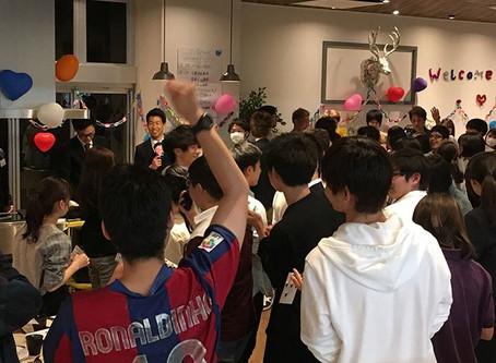 4/9 ウェルカムパーティー開催‼️
