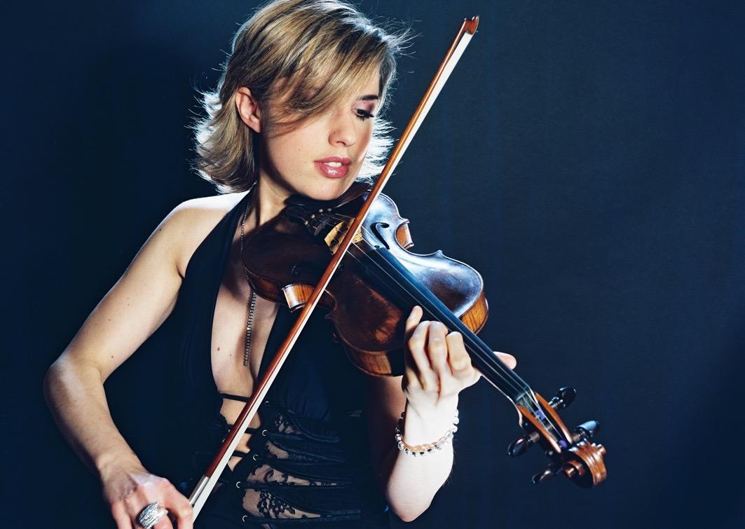 Estelle violoniste shining productio