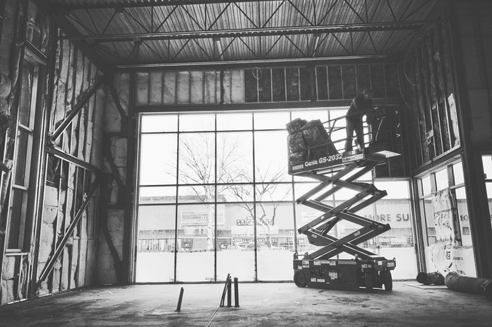 Industrial Framing and Drywall