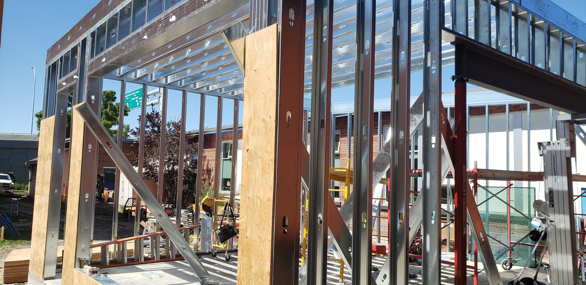 Steel Stud Framing Project