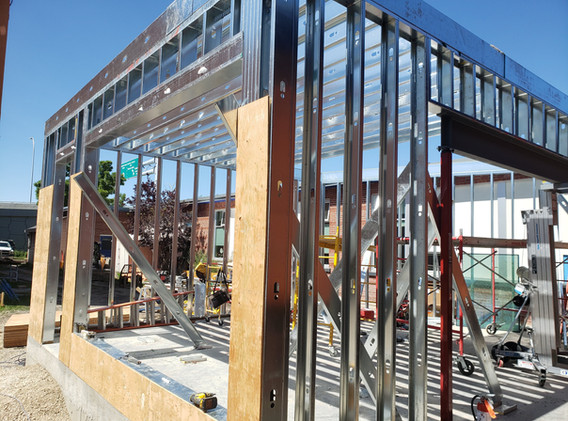 Steel Stud Framing Project