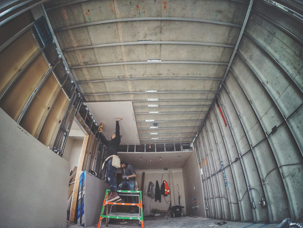 Ceiling Drywall Installation
