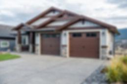 Custom steelcraft garage door