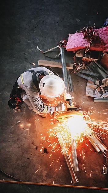 Preparin steel stud framing
