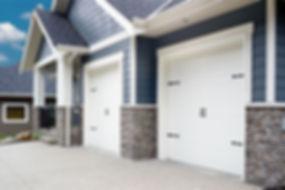 Carriage house style garage door