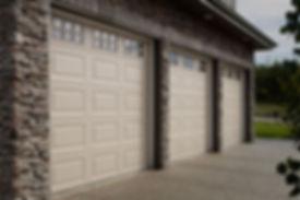 Beautiful traditional garage door