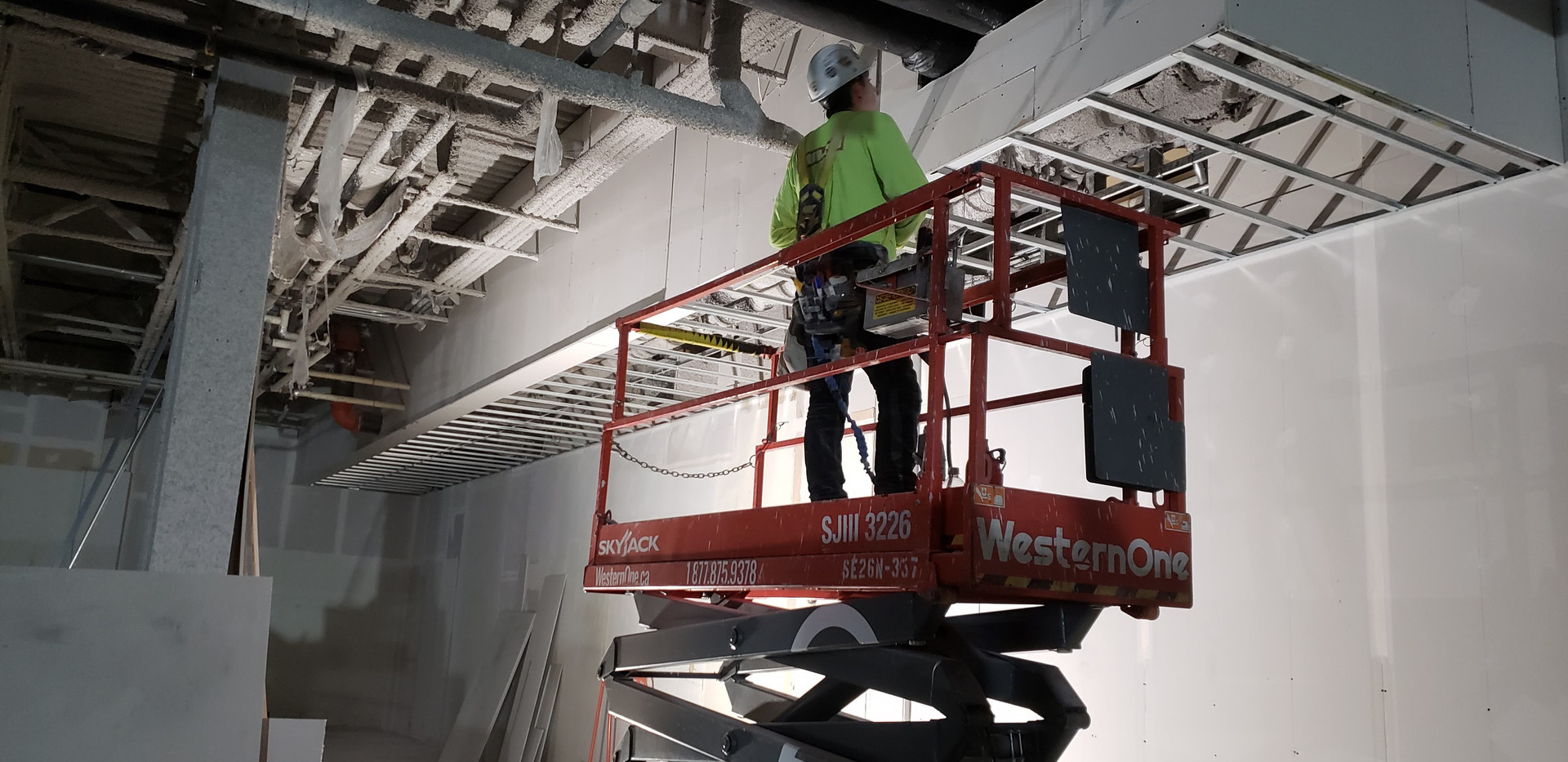 Industrial Drywall Installaion