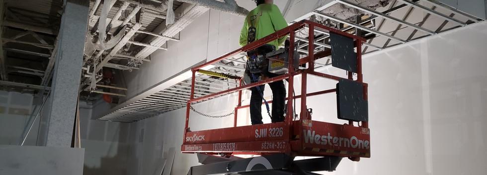 Industrial Drywall Installaion