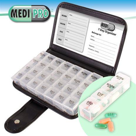 MEDI PRO 7-Day Pill & Vitamin Organizer