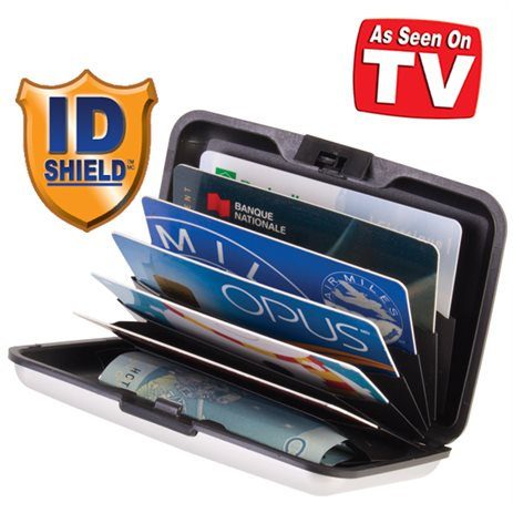 ID Shield Aluminum Scan-Proof Wallet