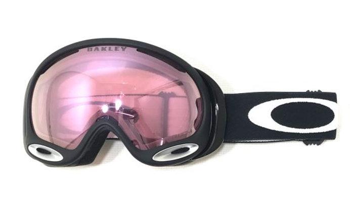 OAKLEY A  FRAME   :  VR50 Pink Iridium /  Jet Black(ジェットブラック)
