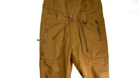 BILLABONG   WORKERS  BIB PANTS カラー:TAN    M  size  / ビブパンツ スノーボード スキー ウェア