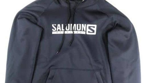 SALOMON LIFE HOODY カラー:NAVY  size  XL     /  サロモン 撥水パーカー ポケットファスナーの複製