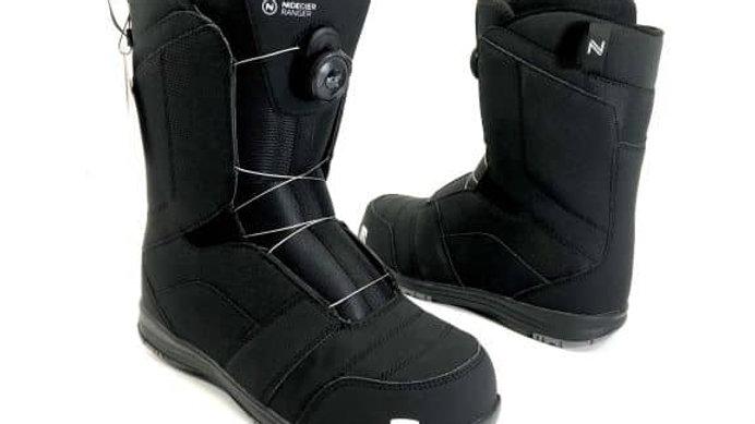 NIDECKER  Boots RANGER   black    26.5 ・27.0・27.5 / とても軽くスニーカーの様に手軽に履ける。
