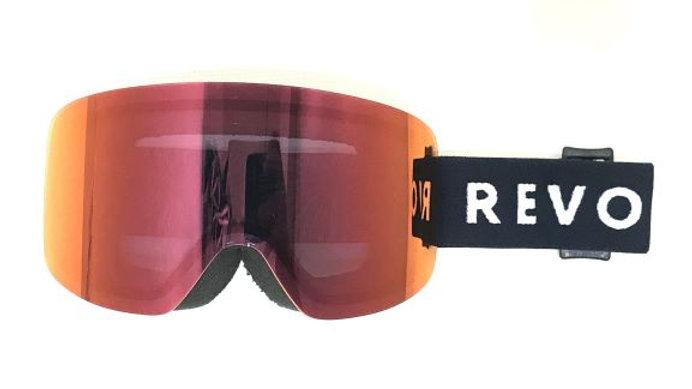 REVOLT  FRAMELESS:Red  Mirror