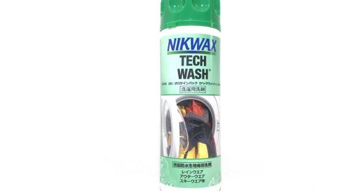 NIKWAX   TECK  WASH  :  スキー・スノーボードウェアを洗濯!防水・撥水効果の回復