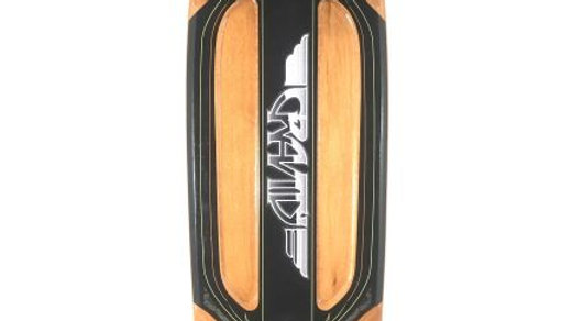 コンプリートスケートボード GRAVITY バットテイル28×8inch   /  ニュースクール クルージングボード
