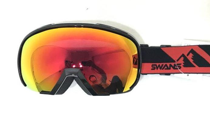 SWANS  080-MDHS OTG  眼鏡対応  :ブラック/レッド
