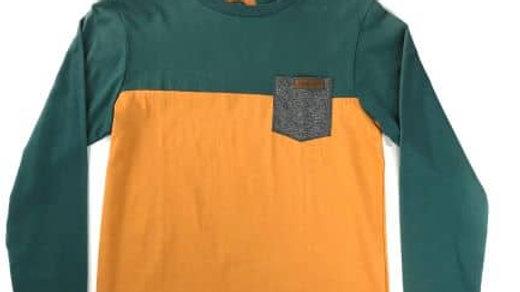 HYDROPONIC  SECTION  LS カラー:GRN/GOLD    S  size  /ハイドロポニック ロングTシャツ