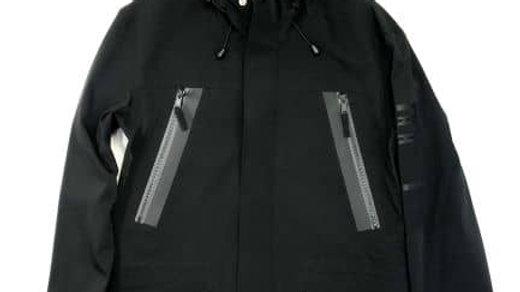 COLLECT MANI  HEADLIGHT JACKET   カラー:Black   XL size  / 生地 石川県  縫製  富山県スノーボードウェア