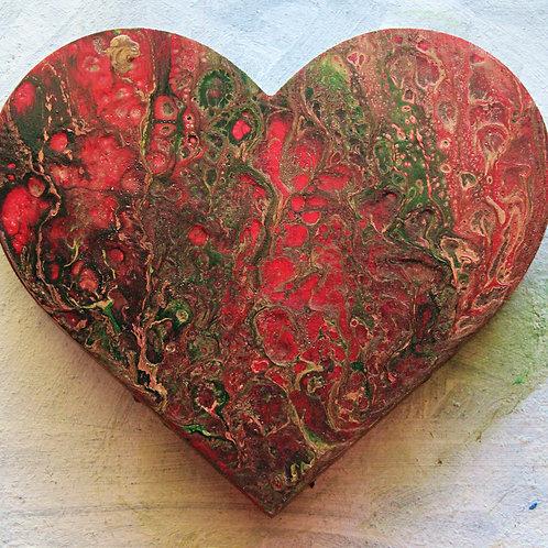 Dark holiday (yule) Heart