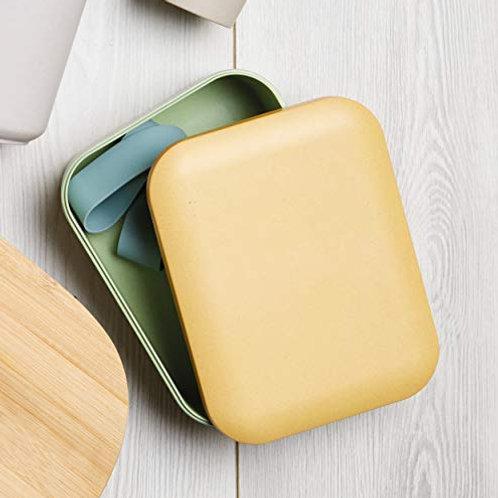 Lunch box Kitchen Craft, bicolor pastel