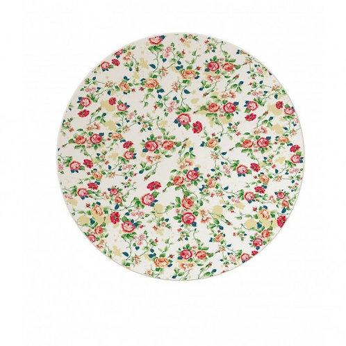 Farfurie Grunberg, print floral