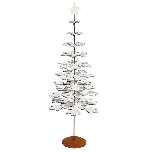 Brad decorativ din lemn, 60 cm înălțime