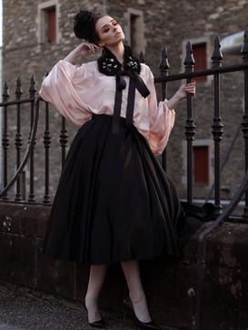 Presscall - Lauryn wears Gordon Donaldso