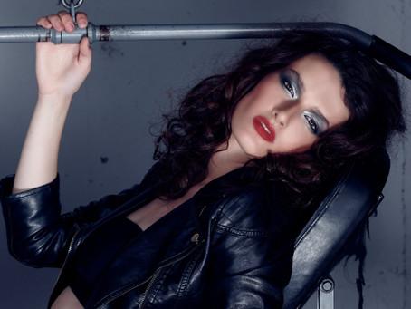 Sasha B Channels the 80's Vibe!