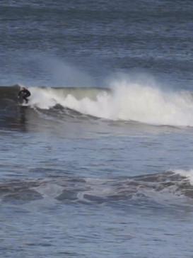 Al Mennie Surfing North Coast of Ireland Oct 2020.MOV