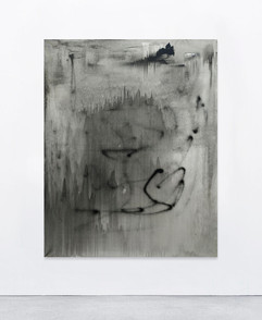 Untitled (Here's where the story ends), 2020 150x120 cm  for sales inquieries info@filiperealmarinheiro.com